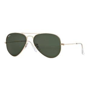 Ray-Ban3025 58mm Classic Aviator Sunglasses