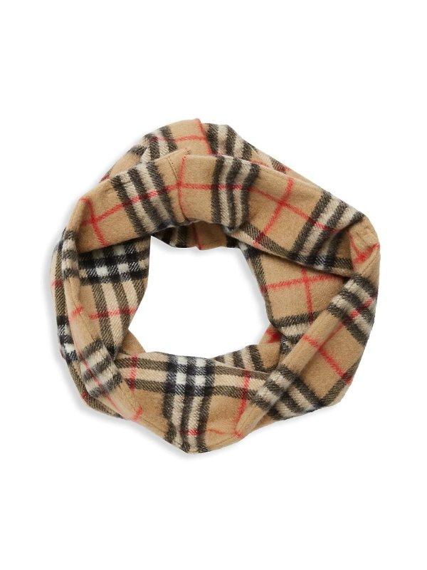 套头羊绒围巾
