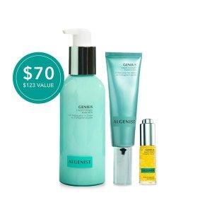 $70(价值 $123)Algenist 胶原蛋白护肤套装热卖 含身体乳、面霜、唇部精华