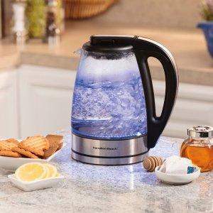 8.5折 封面水壶$59收Hamilton Beach那些便宜又好用的厨房小电器 $23收电动榨汁机