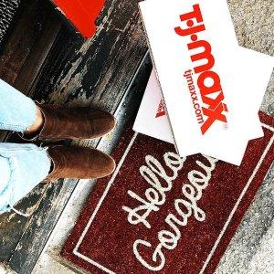 上新TJ Maxx 精美家居商品,床上用品等折扣区新品上市