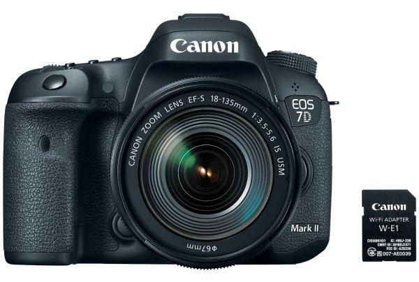 Canon EOS 7D Mark II EF-S 18-135mm f/3.5-5.6 IS USM Wi-Fi Adapter Kit