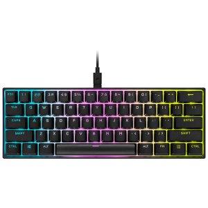 $149.99 MX Speed银轴新品上市:Corsair K65 RGB MINI 60% 游戏机械键盘