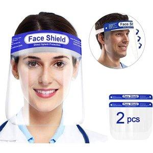 QueenNa 防护面罩 1个架子+2个面罩