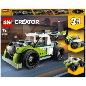 Lego适合7岁以上火箭飞车