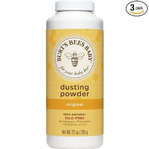 $7.19Burt's Bees Baby 100% Natural Dusting Powder, Talc-Free Baby Powder - 7.5 Ounce Bottle @ Amazon