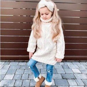 低至4折UGG、Melissa 等童装童鞋热卖 舒适美貌 萌宝必备