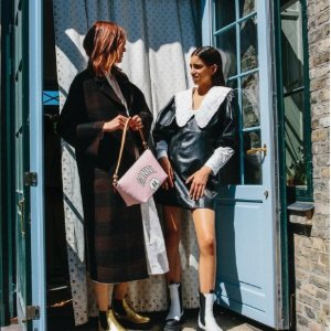 5折起!连衣裙£143就入GANNI官网 冬季大促 针织开衫、连衣裙、毛衣泰迪熊等超低价