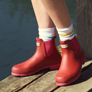 低至6折 铲雪必备款最后一天:Hunter 英伦皇室专用雨靴、雨具、外套热卖