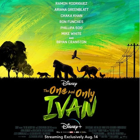 8/14The One and Only Ivan Disney+