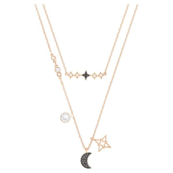 星月双层项链