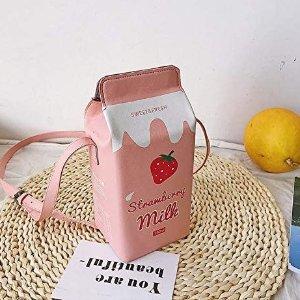 €9.99收封面款 拍照凹造型绝佳Amazon 燃爆少女心的小包包 有趣可爱又平价 像草莓牛奶一样甜