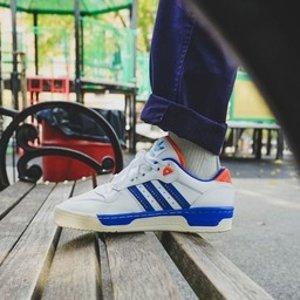 低至5折+额外8折+免邮adidas官网 特价区男士运动服饰、鞋履折上折促销