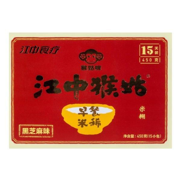 江中猴姑早餐米稀 黑芝麻味 15包入 450g