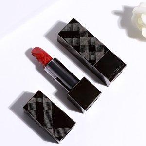 4.5折起,经典Kisses口红£12Burberry彩妆香氛大促!超有质感美妆盘口红必入