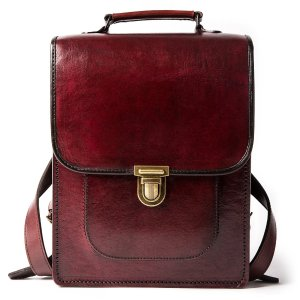 Beara BearaSimple and Classic Leather Backpack