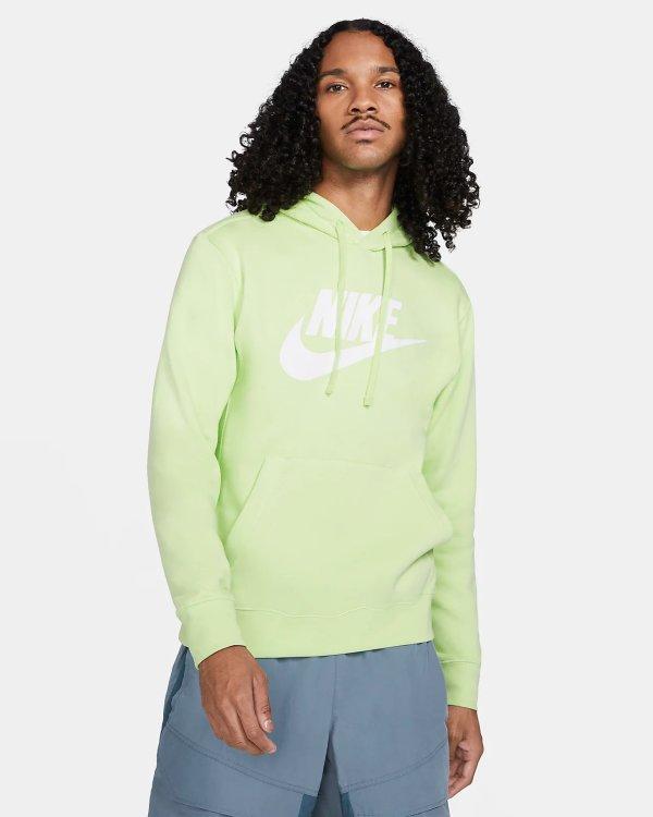 Sportswear Club 男款羊毛卫衣