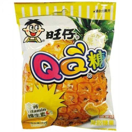 (大袋)旺仔 QQ糖 菠萝味 70g