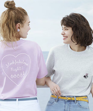 Starts From $9.9New Minnie Mouse Best Freinds Forever UT Collection @ Uniqlo