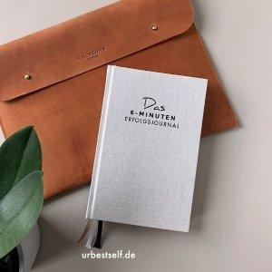 低至€18 原价€24.9 多色可选UrBestSelf 新版6分钟日记本 亚麻封皮 科学记日记 养成好习惯