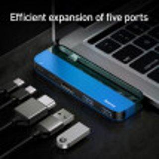 $29.59Baseus Transparent Series Type-C to HDMI/USB3.0/Type-C Multifunctional HUB