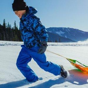 低至$11.88起Arctix 大童保暖背带雪裤