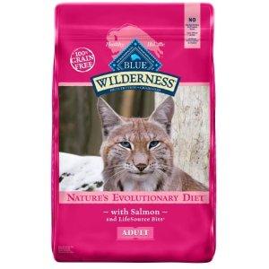 Blue Buffalo Wilderness三文鱼味猫粮 11磅