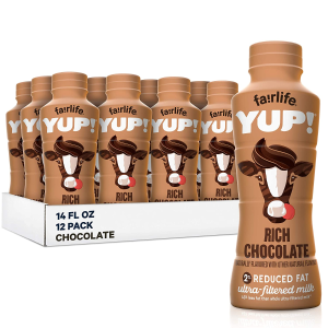 $17.09fairlife YUP! Low Fat Ultra-Filtered Milk, Classic White 14 Fl Oz, 12 Count
