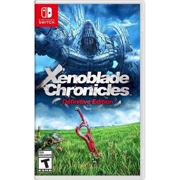 《异度神剑 决定版》Nintendo Switch 实体版