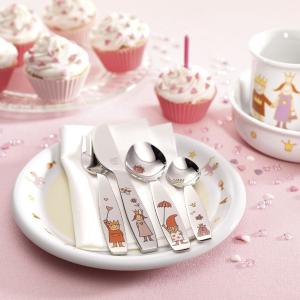 4件套售价€10.34 安全又可爱ZWILLING 双立人儿童餐具套装 宝贝的第一套餐具 自用送人都好