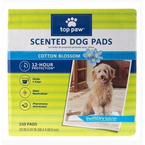 $7.99Top Paw 宠物清洁垫 150张