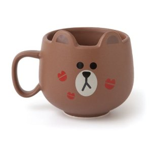 Line Friends Mug (Brown)