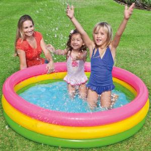 史低价$16.99(原价$49.99)闪购:Intex 儿童充气泳池