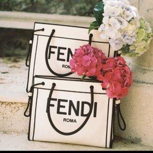 FendiRoma Logo 托特包