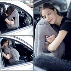 $14.99(原价$25.99)AirGoods 多用途充气旅行枕、U型枕 回国上班族必备神器