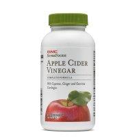 GNC 超级食物苹果醋胶囊 60粒 消化系统体重管理