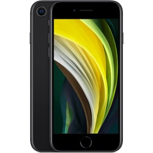 Apple iPhone SE 64GB (Black) [2020]
