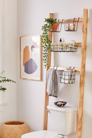 Devon Bath Leaning Storage Rack | Urban Outfitters
