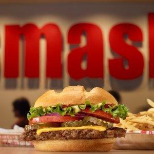 正餐买一送一即将截止:Smashburger 牛肉汉堡店优惠活动