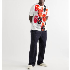 Junya WatanabeLimited Edition Printed Cotton-Jersey T-Shirt