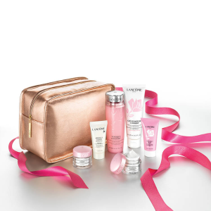 Enjoy Holiday Skincare Essentials Collection for $42.5 ($97 value)with any purchase @ Lancôme