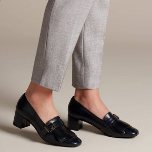 $21.52 (原价$149.99)Clarks Tealia Maye 女士方跟鞋 秋冬复古配搭