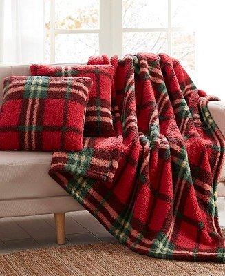 沙发毛毯套装