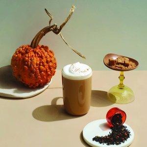低至3折 $2.4起万圣节Cos:Davids Tea 清仓大促 自制暖暖奶茶 万圣节限定上线