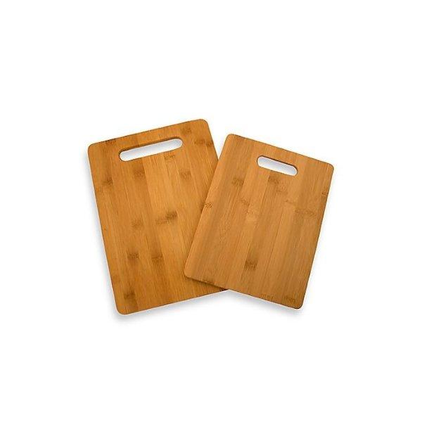 竹制砧板两件套