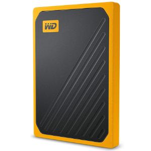 史低价:WD 500GB My Passport Go 外置固态硬盘