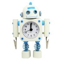 机器人造型小闹钟