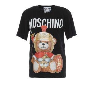 Moschino仅剩小号啦~泰迪熊短袖