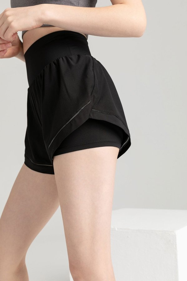 Carbon Black 运动短裤