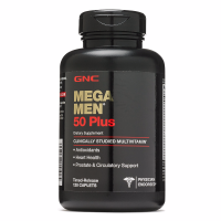 GNC 50岁及以上男士综合维生素 Mega Men® 120粒